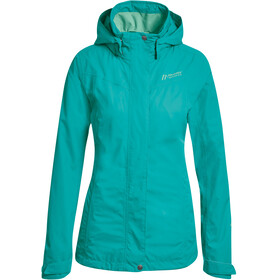 Maier Sports Metor 2L Packaway Jacket Women viridian green